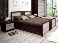 Manželská posteľ Tempo Kondela - Flamengo Krásna drevená posteľ, ktorá poteší svojou veľkosťou i úložným priestorom.