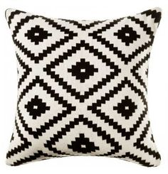 READY TO SHIP TODAY  https://www.etsy.com/listing/194240801/aztec-pillow-black-and-white-aztec