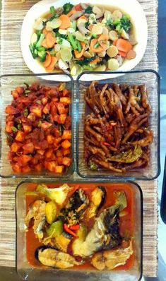 Indonesian Food, Kung Pao Chicken, I Foods, Kitchen Dining, Food And Drink, Menu, Asian, Healthy Recipes, Cooking