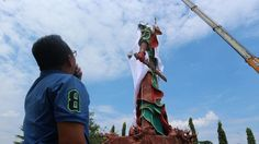 Statue of Chinese god stokes tension in Muslim-majority Indonesia