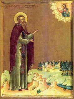 Стефан Комельский #Orthodox #Christian #saint #icon