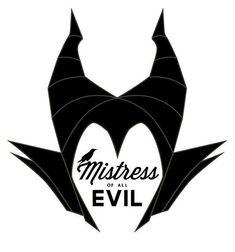 maleficent silhouette - Google Search: