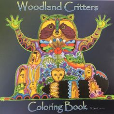 Earth Art International: Coloring Book Woodland Critters