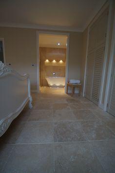 bedroom travertine floor - Google Search