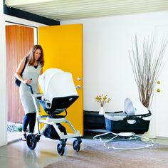 Woah, that is a cool looking stroller. Haha