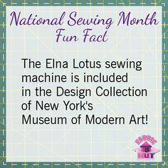 Each day we'll be sharing a fun fact or sewing tip with you! Follow this board to see them all! #nationalsewingmonth