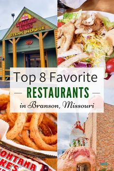 There are seriously great Restaurants in Branson and options for every taste and want for each and every person in your family. No matter if you want pizza, Italian or just some down-home old-fashioned homemade cooking, Branson absolutely doesn't disappoi Branson Restaurants, Unique Restaurants, Branson Hotels, Branson Vacation, Vacation Trips, Vacation Ideas, Family Vacations, Midwest Vacations, Dream Vacation Spots