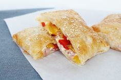 Puff Pastry Pockets - Soooo Yummy  http://www.onekitchenblog.com/?p=1066