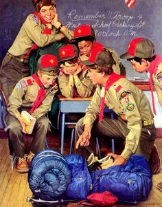 boy scout photo art - Google 検索