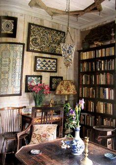 A pretty library