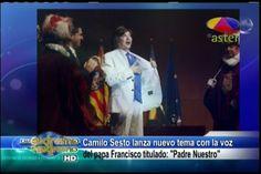 """Jary Ramirez Y Alex Macías En Farándula Extrema: Camilo Sesto Lanza Nuevo Tema Con Voz Del Papa Francisco Titulado """"Padre Nuestro"""""""
