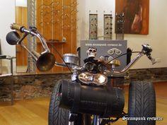 steam trike Steampunk Bicycle