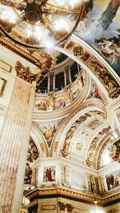 lovely white ceiling with a few angels lindo teto branco com alguns anjos Baroque Architecture, Church Architecture, Beautiful Architecture, Beautiful Buildings, Architecture Design, Beautiful Places, Architecture Definition, Beautiful Pictures, Renaissance Architecture
