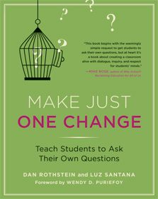 this book looks great.  Key to learning and student empowerment in learning is having students generate their own questions