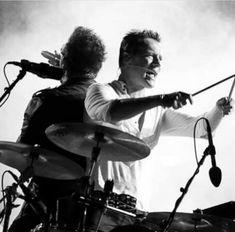 Bono and Larry Mullen Jr U2