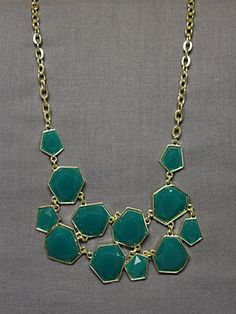 Metirite Lux Necklace in Teal