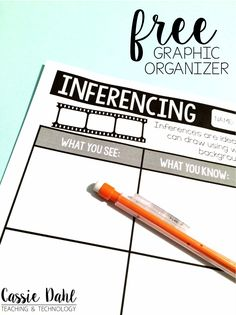 Using movie shorts in the classroom can be very engaging. Guide your students to make inferences using a Pixar short. The post includes two free graphic organizers to help your students! Perfect to use for any book or video.