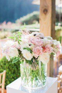Ceremony flowers - Clane Gessel Photography