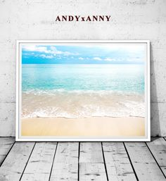 US$5.85 Beach Wall Art, Beach Photography, Ocean Water, Printable Large Poster, Coastal Decor, Colour Photography, Instant Digital Download, Poster  Beach Wall Art Beach Photography Ocean Water by ANDYxANNY on Etsy