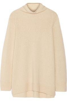 The Row|Mandel oversized cashmere and silk-blend turtleneck sweater|NET-A-PORTER.COM