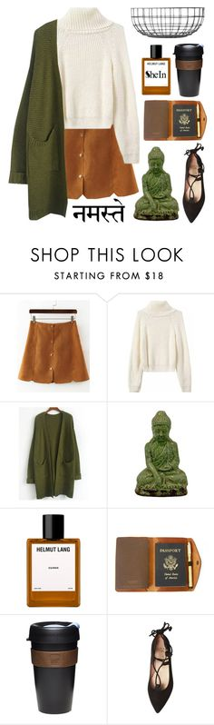 """""""{www.shein.com}"""" by s-chan-forever ❤ liked on Polyvore featuring Urban Trends Collection, Helmut Lang, Red Clouds Collective, KeepCup, French Sole FS/NY, Menu and ref"""