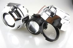 44.71$  Buy here - http://aliqio.shopchina.info/go.php?t=32529982864 - 2.5 Inch H1 HID Xenon Headlight Projector Lens Bi Xenon Hi/Lo Lens with 3 inch Cayerme Shroud  #buyonline