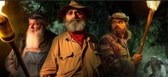 Mountain Monsters AIMS Erupts This is a super weird one with that wild dude in the forest who just disappears! Mountain Monsters, Bigfoot Sightings, Putnam County, Broadway News, Scary Funny, Tv Seasons, Mothman, Monster Hunter, Season 7