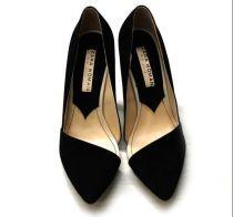 Pointed high-heeled single shoe wedding shoes