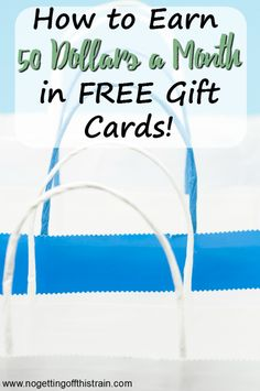Would you like extra spending money? Whether it's free Starbucks or a family vacation, here's how you can earn up to $50 in free gift cards every month!