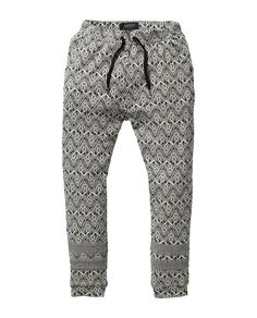 Geometric jacquard jogger | Pants 5 sizes | Women's Clothing at Scotch & Soda