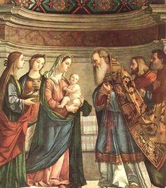 Joyful Mystery #4 - Presentation of Jesus to the Temple