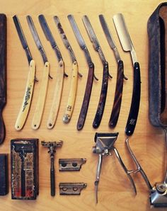straight razors, men's shaving and grooming; For a Gentlemen all things are worth doing right.