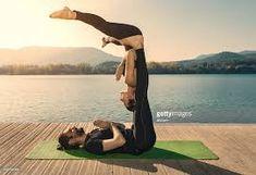 Výsledek obrázku pro acro yoga Acro, Two People Yoga Poses, Yoga Photos, Perfect Couple, Stock Photos, Couple Yoga, Couples, Pictures, Image