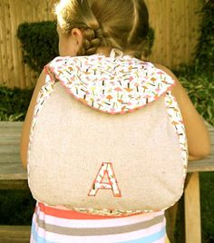 """That's My Letter: """"B"""" is for Backpack"""