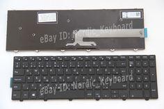 HU HG Billentyűzet Hungarian Keyboard for Dell Inspiron 5758 5551 5555 5558 5559