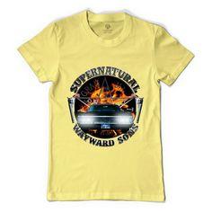 Supernatural Wayward Sons Silver Women's T-shirt