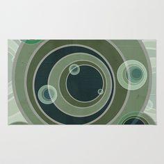 Textures/Abstract 105 Area & Throw Rug by ViviGonzalezArt - $28.00