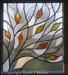 Stained glass - The website shows a collection of ceramics produced over the past ten years, also incorporated are pages showing mosaic works which include mosaic panels made from hand made ceramic pieces and a schools tile project also included is a pag Stained Glass Quilt, Stained Glass Flowers, Faux Stained Glass, Stained Glass Designs, Stained Glass Projects, Stained Glass Patterns, Leaded Glass, Stained Glass Windows, Contemporary Stained Glass Panels