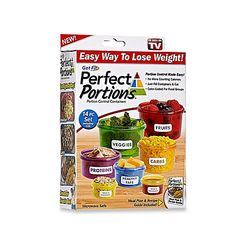 Healthy eating and weight loss are easier than ever with Get Fit Perfect Portions Portion Control Food Containers. Each color-coded container is marked for food group and holds the exact portion size. Just fill and eat. No more counting calories. Portion Control Containers, Healthy Afternoon Snacks, Food Portions, Keto Shopping List, Perfect Portions, Carbs Protein, High Protein, Food Containers, Storage Containers