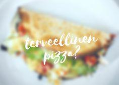 Pizza joka menee suoraan hauiksiin Pizza, Health, Health Care, Salud