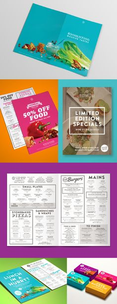 'Massive Tastes' food campaign for Revolution Bars Menu Design, Revolution, Campaign, Layout, Graphic Design, Marketing, Food, Page Layout, Essen