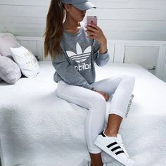 Adidas is one of the most popular and influential brands out there. Their clothing suits everyone and you can find some of the most stylish items out there. Simple, fashionable and sporty – these types of outfits are so popular, and you can see them all over instagram, and there's a reason why. Just look at these 10 sporty Just look at these 10 sporty Adidas outfits!