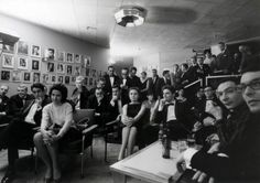 Eurovision Song Contest 1964: green room