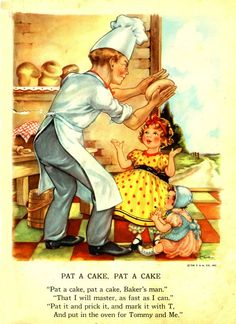 """From my husband's childhood """"Brimful Book"""". Every baby's favorite!"""