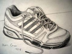 Shoe Sketch by Xulikken.deviantart.com on @deviantART