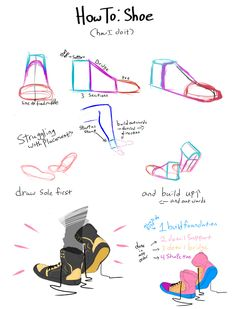 Shoe. Tutorial