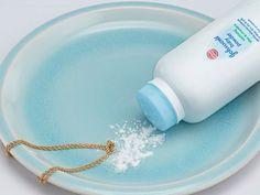 Cospargere catene già annodato con polvere per bambini a districare più facilmente.