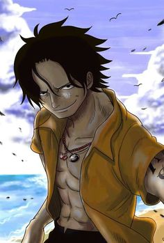 ImageFind images and videos about one piece, ace and portgas d. ace on We Heart It - the app to get lost in what you love. One Piece Ace, One Piece Manga, Portgas Ace, One Piece English, Ace And Luffy, Ace Of Spades, Anime Nerd, Nico Robin, Roronoa Zoro