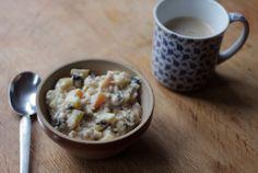 Creme de quinoa e maçã - blog papacapim