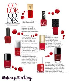 """""""only red nails....."""" by puljarevic ❤ liked on Polyvore featuring Yves Saint Laurent, Chanel, Gucci, Rimmel, Dolce&Gabbana, Christian Dior, OPI, Topshop, nailart and red"""